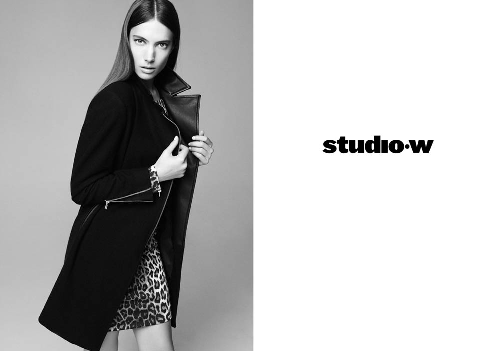 JessicaMillerStudioW2 Jessica Miller Fronts the Studio W Spring 2013 Campaign by Nagi Sakai