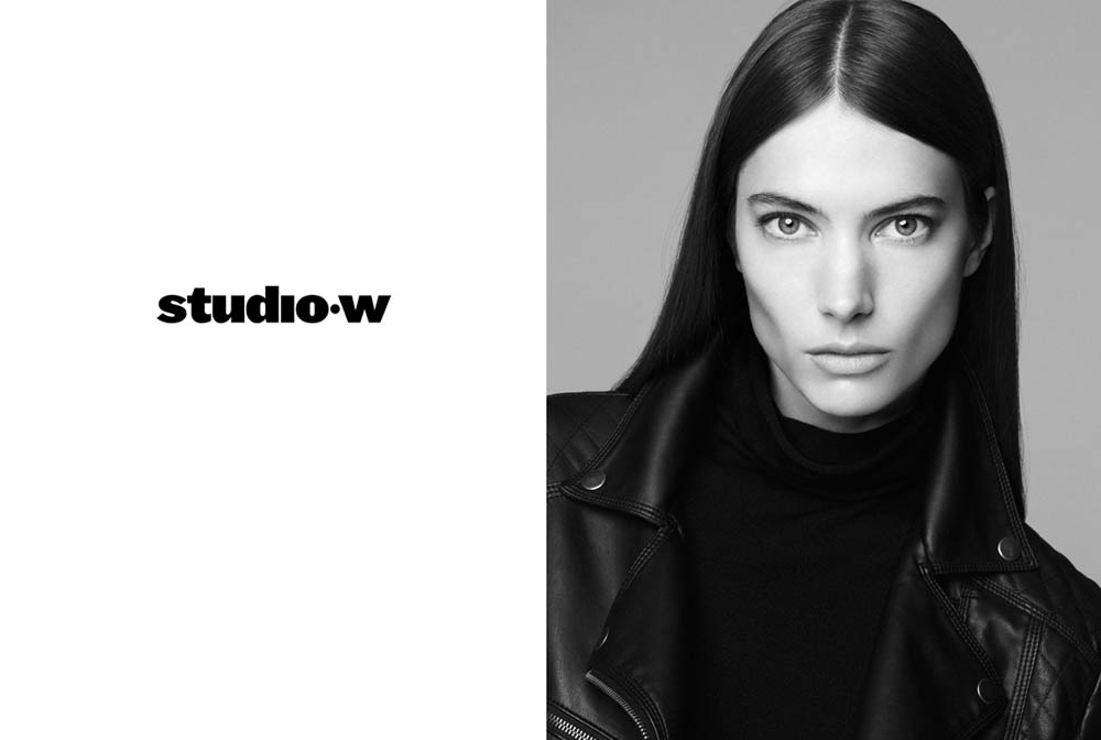 JessicaMillerStudioW3 Jessica Miller Fronts the Studio W Spring 2013 Campaign by Nagi Sakai