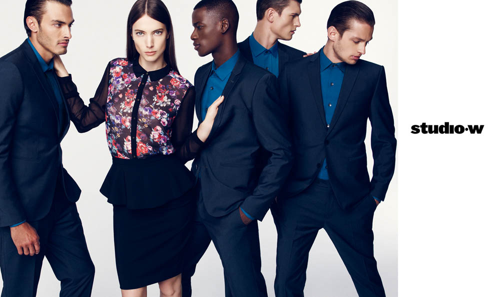 JessicaMillerStudioW4 Jessica Miller Fronts the Studio W Spring 2013 Campaign by Nagi Sakai