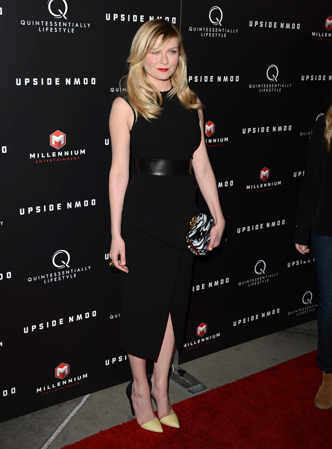 Kirsten Dunst Stella1 Kirsten Dunst in Proenza Schouler at Upside Down Special LA Screening