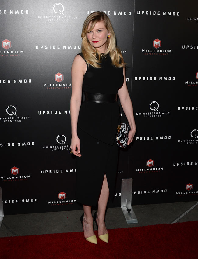Kirsten Dunst Stella2 Kirsten Dunst in Proenza Schouler at Upside Down Special LA Screening