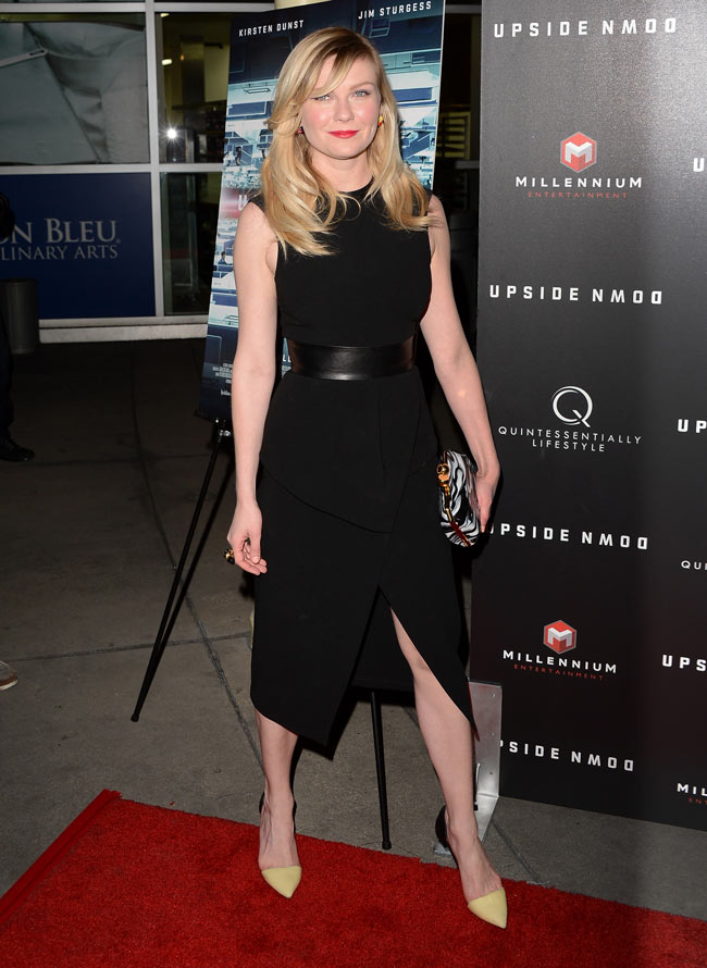 Kirsten Dunst Stella3 Kirsten Dunst in Proenza Schouler at Upside Down Special LA Screening