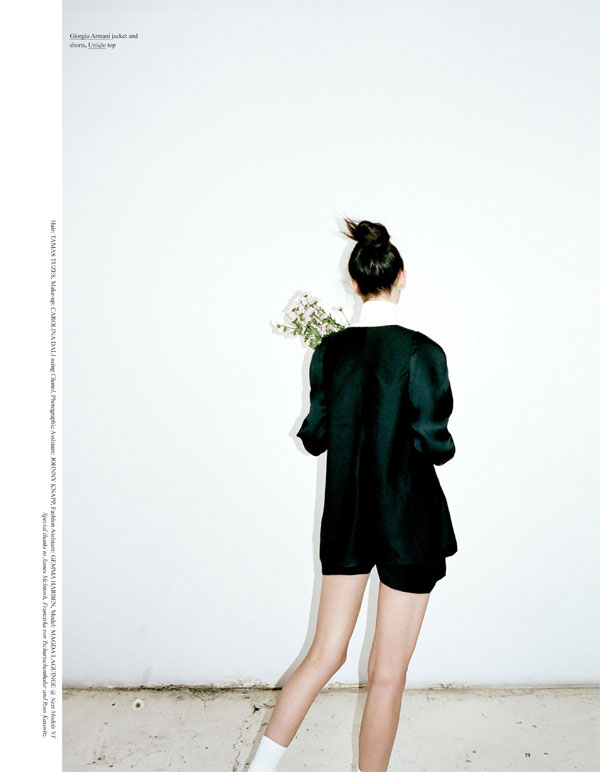 Magda Laguinge Stars in the Cover Shoot of Oyster #102