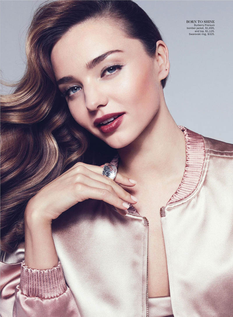 MirandaKerrVogueShoot7 Miranda Kerr Sports Spring Styles for Vogue Australias April Cover Shoot