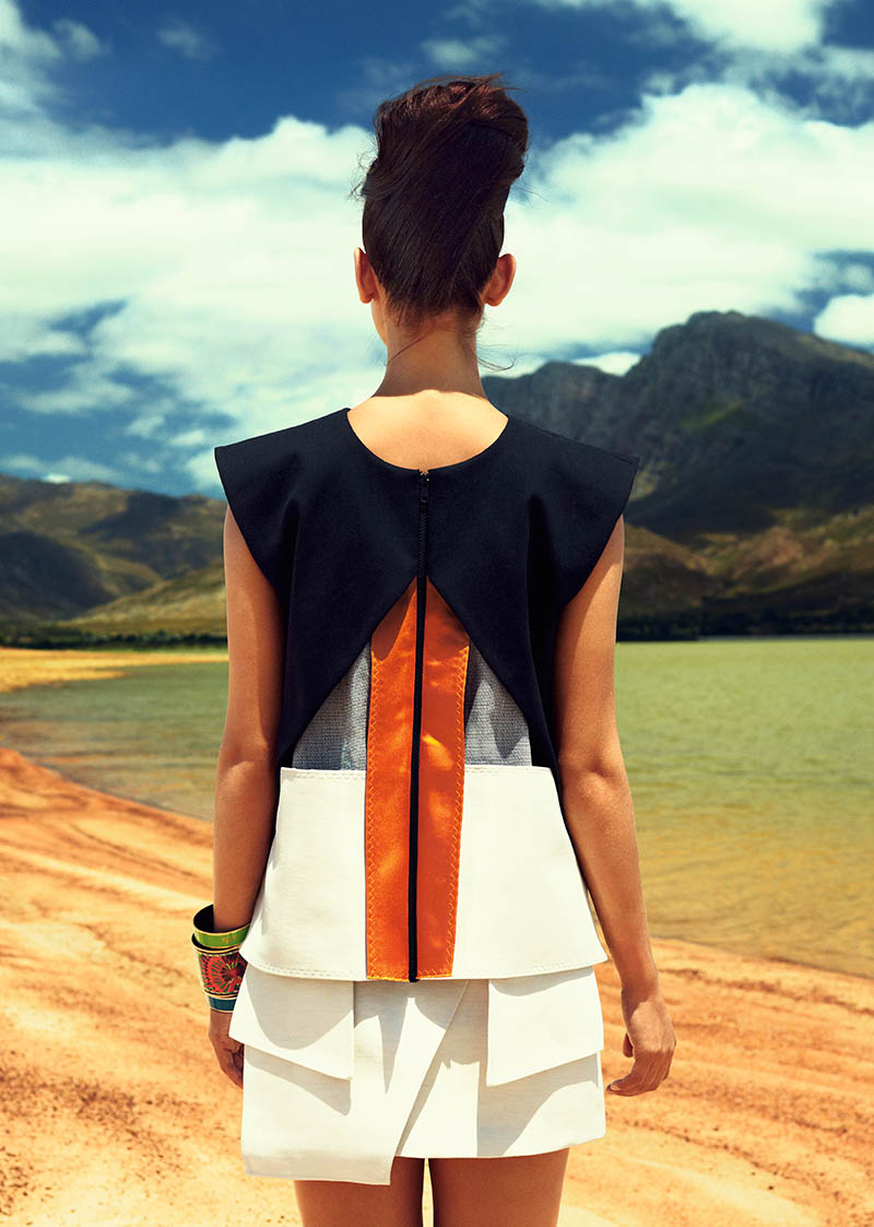 NK Explores South Africa for Spring 2013 Campaign by Joel Rhodin