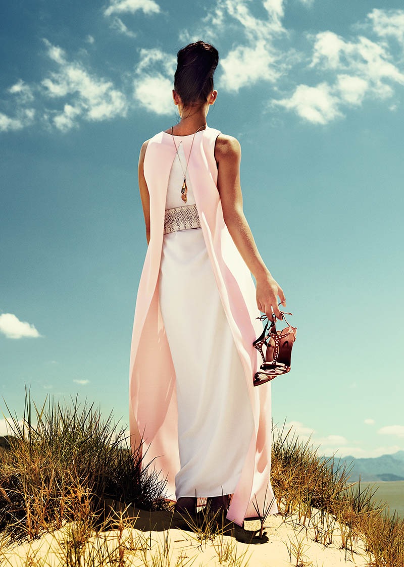 NYNK 5 SERIE NYA VÄGAR 2013 DAM C NY NK Explores South Africa for Spring 2013 Campaign by Joel Rhodin