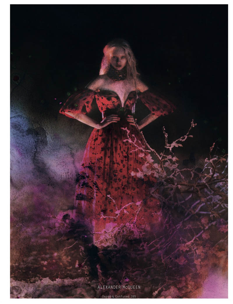 NastyaKusakinaDazedShoot2 Nastya Kusakina Enchants for Jeff Bark in Dazed & Confuseds March Issue