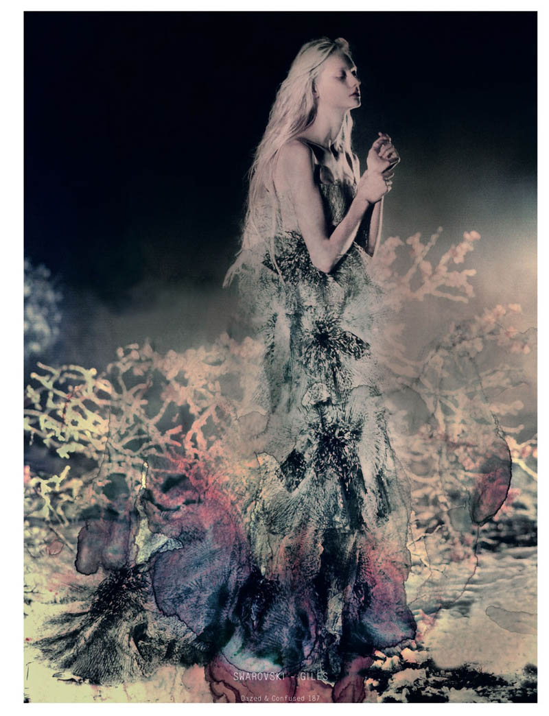 NastyaKusakinaDazedShoot4 Nastya Kusakina Enchants for Jeff Bark in Dazed & Confuseds March Issue