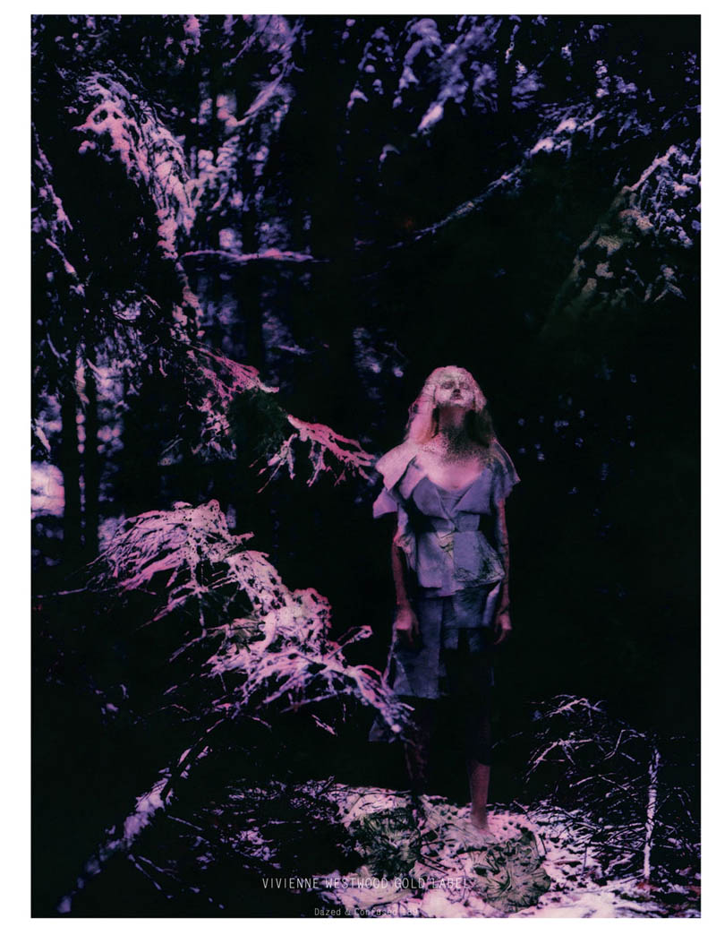 NastyaKusakinaDazedShoot6 Nastya Kusakina Enchants for Jeff Bark in Dazed & Confuseds March Issue