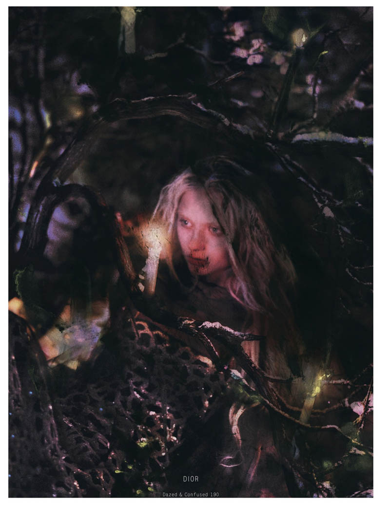 NastyaKusakinaDazedShoot7 Nastya Kusakina Enchants for Jeff Bark in Dazed & Confuseds March Issue