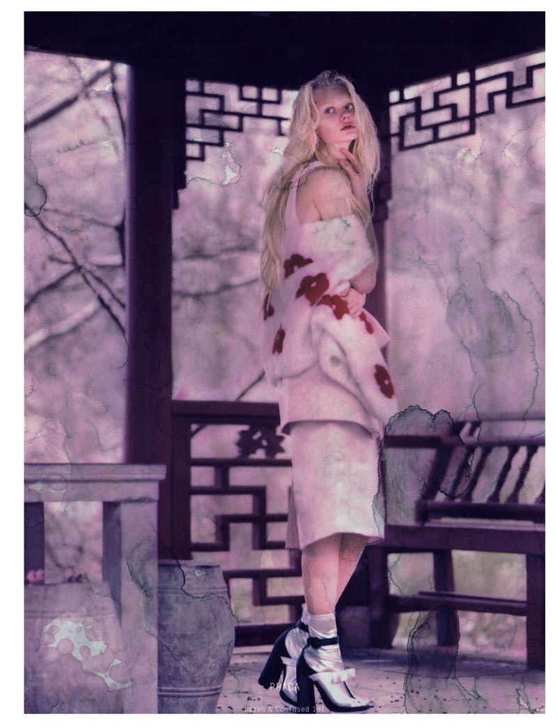 Nastya Kusakina Enchants for Jeff Bark in Dazed & Confused's March Issue