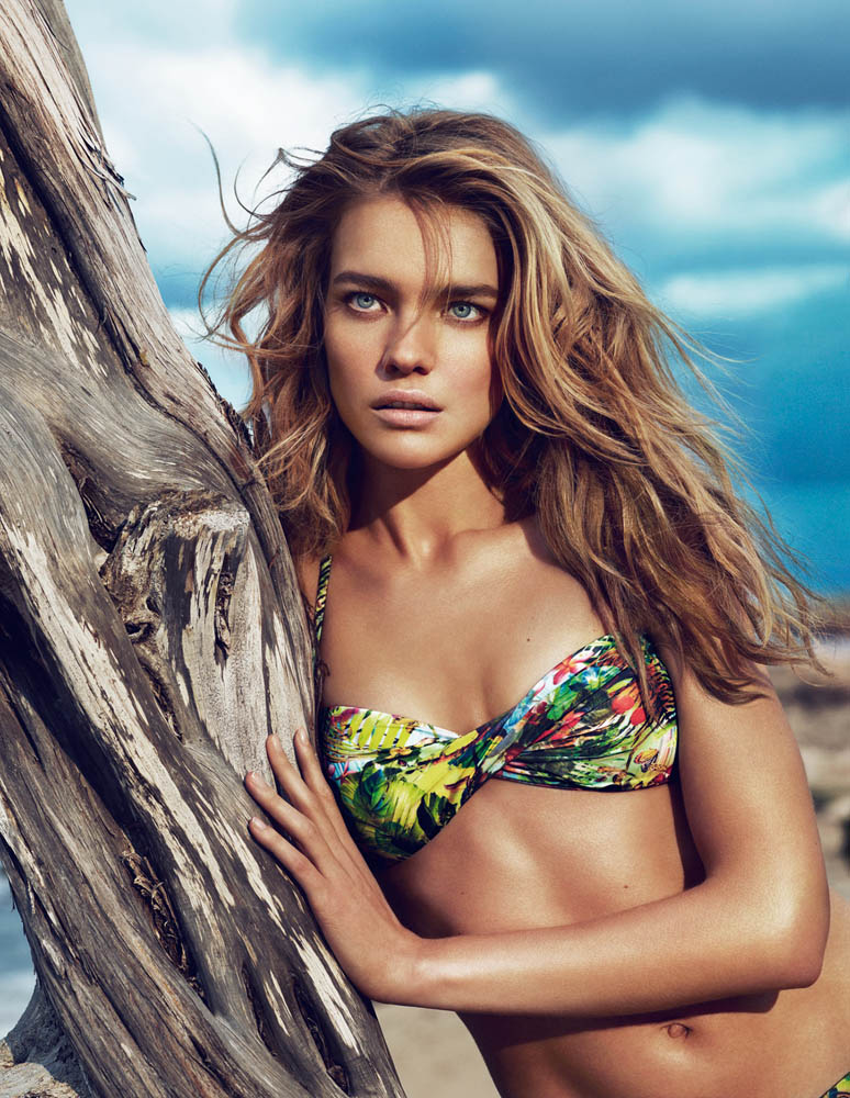 NataliaVodianovaEtam2 Natalia Vodianova Rocks Sexy Swim for Etams Spring 2013 Campaign