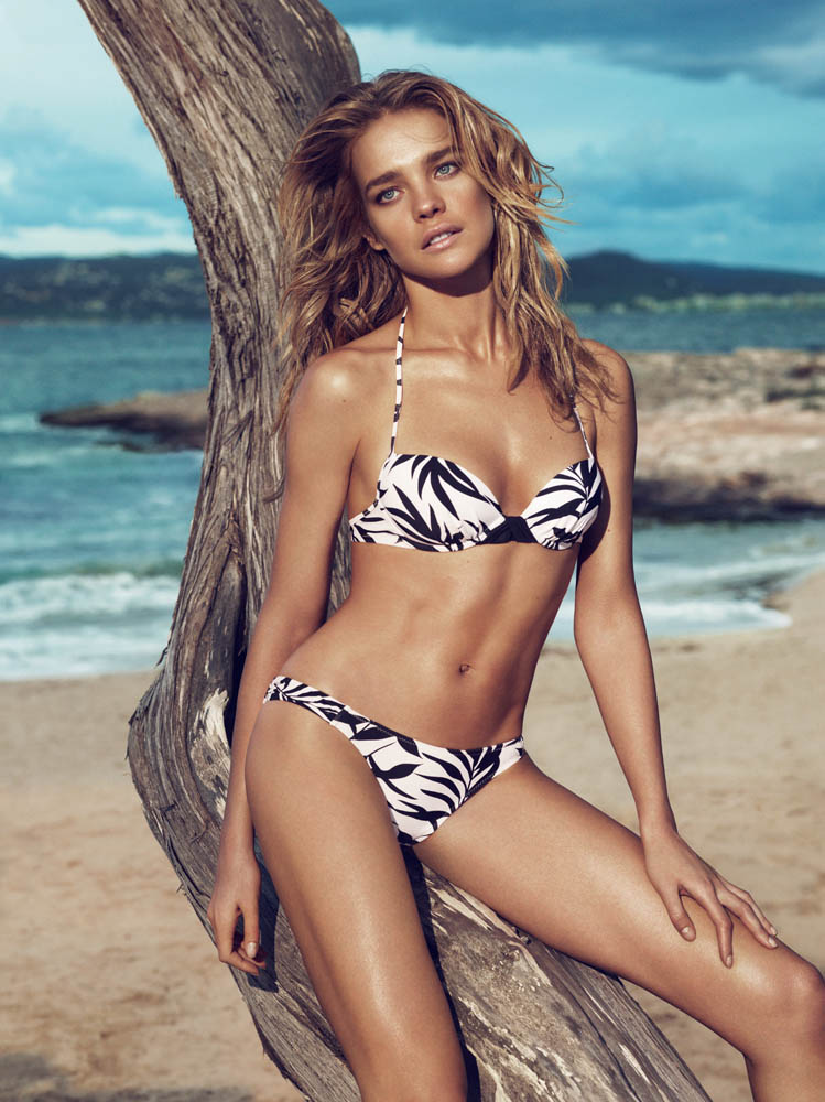 NataliaVodianovaEtam5 Natalia Vodianova Rocks Sexy Swim for Etams Spring 2013 Campaign