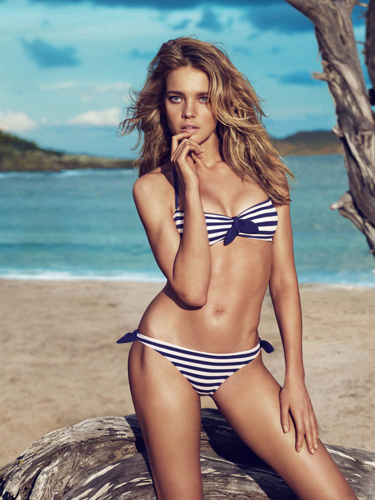 NataliaVodianovaEtam7 Natalia Vodianova Rocks Sexy Swim for Etams Spring 2013 Campaign