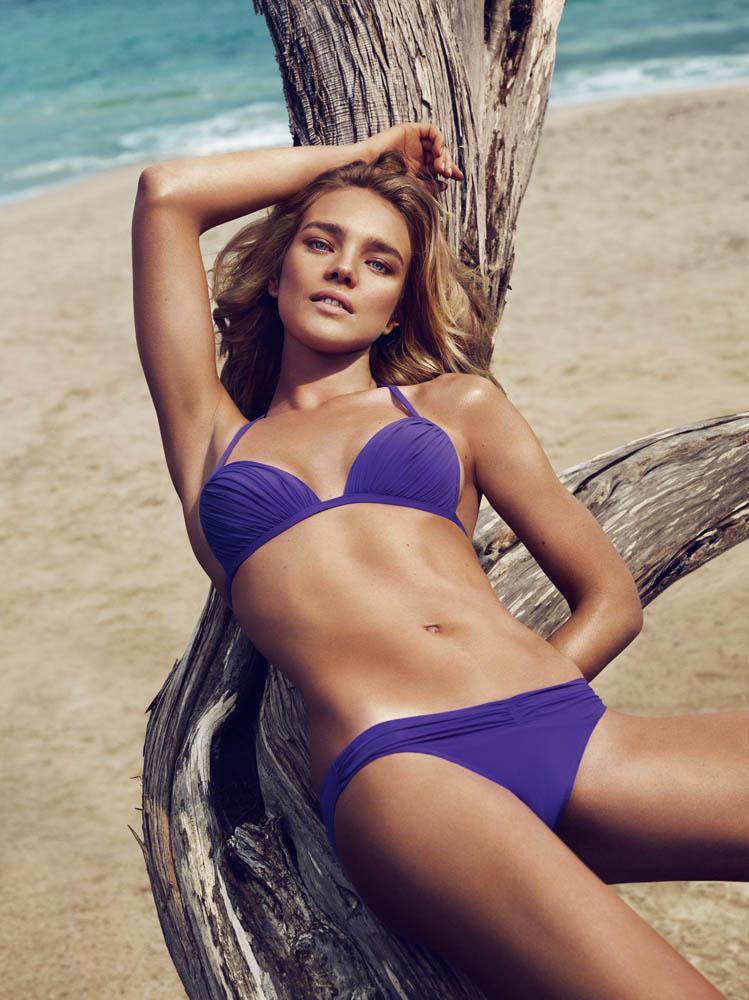 Natalia Vodianova Rocks Sexy Swim for Etam's Spring 2013 Campaign