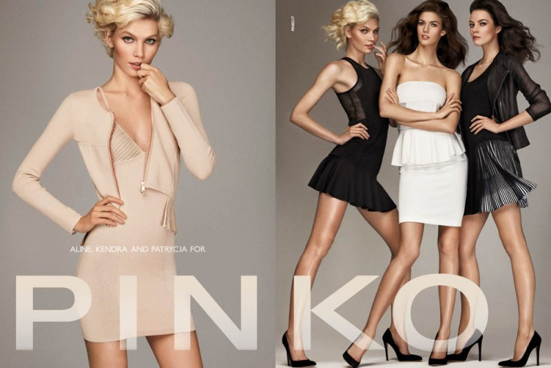 PINKO ADV SS2013 DPS 1 800x534 Aline Weber, Kendra Spears and Patrycja Gardygajlo Star in Pinko Spring 2013 Campaign