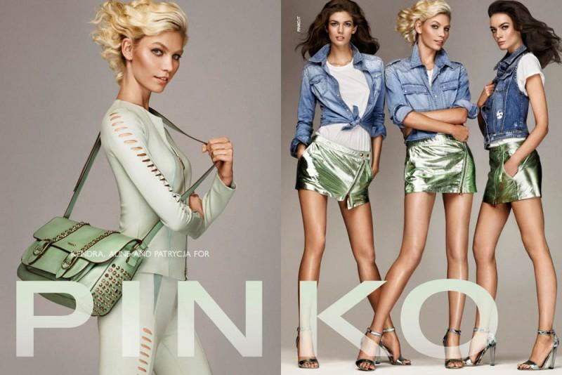 PINKO ADV SS2013 DPS 3 800x534 Aline Weber, Kendra Spears and Patrycja Gardygajlo Star in Pinko Spring 2013 Campaign