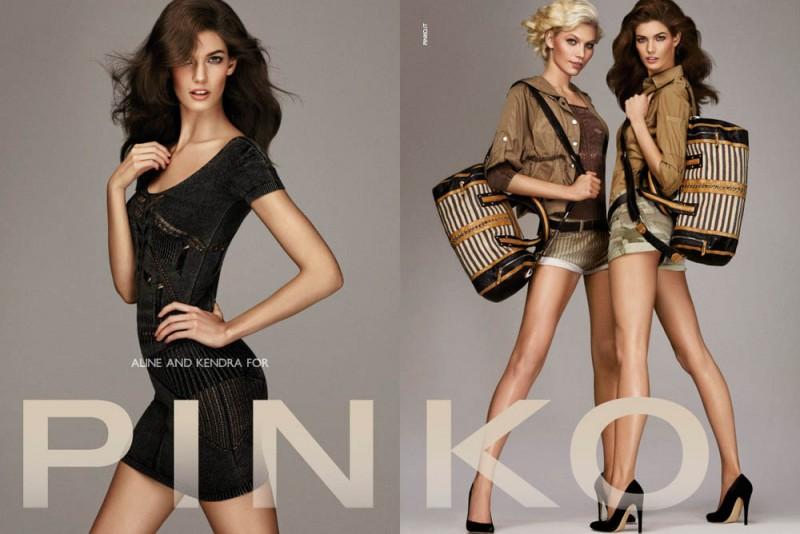 PINKO ADV SS2013 DPS 5 800x534 Aline Weber, Kendra Spears and Patrycja Gardygajlo Star in Pinko Spring 2013 Campaign