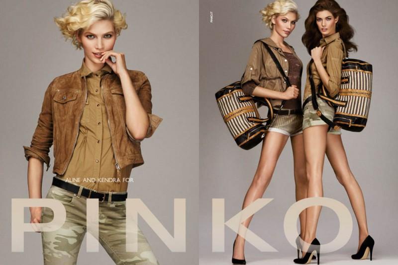 PINKO ADV SS2013 DPS 6 800x534 Aline Weber, Kendra Spears and Patrycja Gardygajlo Star in Pinko Spring 2013 Campaign