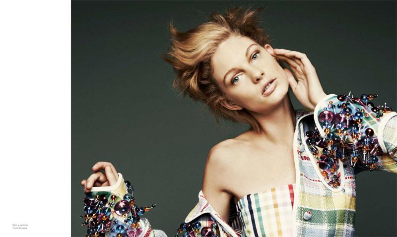 Patricia Van der Vliet Shines in Harper's Bazaar Latin America's April 2013 Cover Story