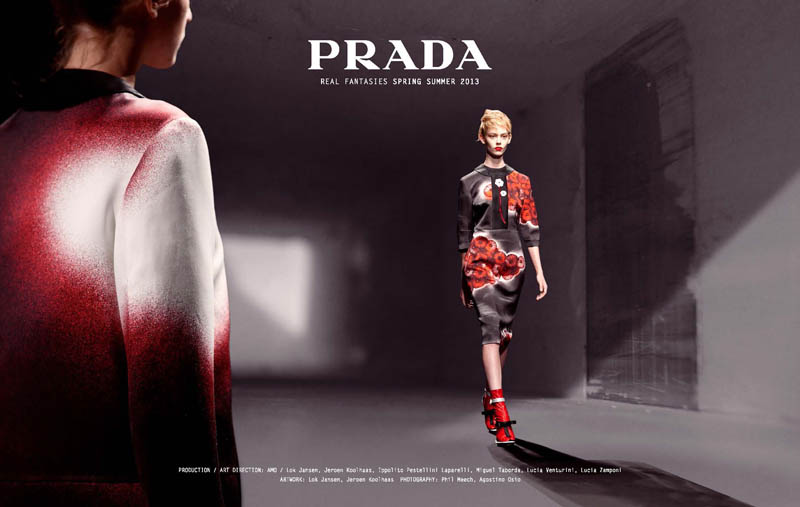 PradaFantasiesSpring1 Prada Real Fantasies Spring/Summer 2013 Lookbook
