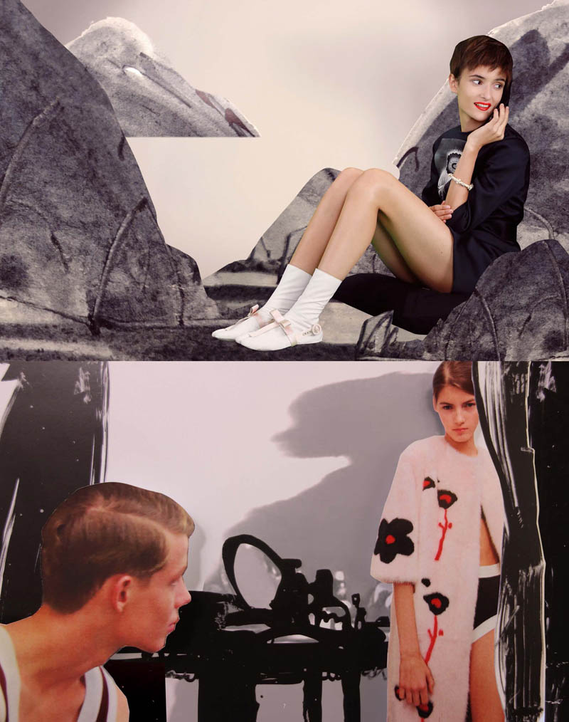 PradaFantasiesSpring4 Prada Real Fantasies Spring/Summer 2013 Lookbook