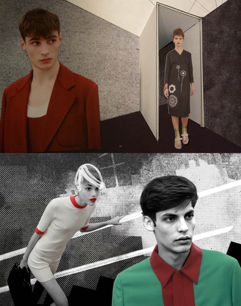 PradaFantasiesSpring8 Prada Real Fantasies Spring/Summer 2013 Lookbook