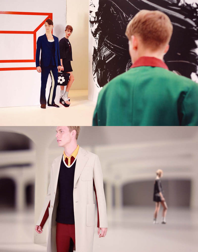 PradaFantasiesSpring9 Prada Real Fantasies Spring/Summer 2013 Lookbook