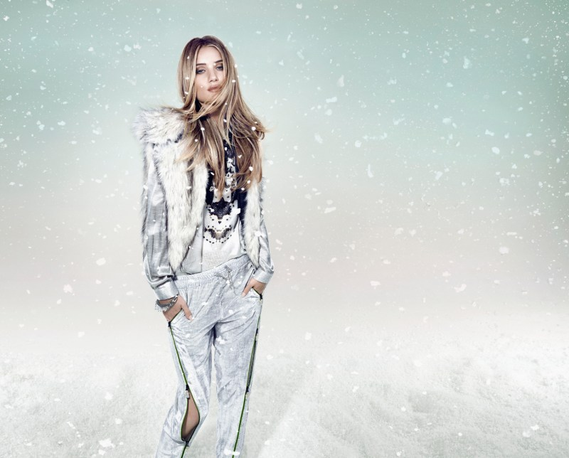 RosieWhiteleyAnimaleWinter3 Rosie Huntington Whiteley is a Snow Beauty for Animales Winter 2013 Campaign