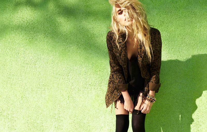 Sky Ferreira Models Forever 21's Festival Collection