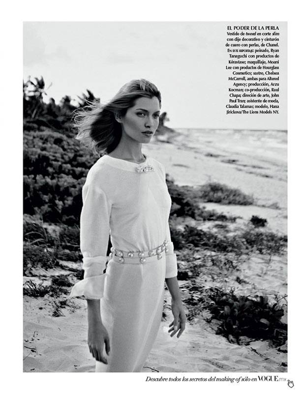 SarahGoreReevesVogueMexico11 Hana Jirickova Gets Tropical for Vogue Latin Americas 2013 April Cover Shoot