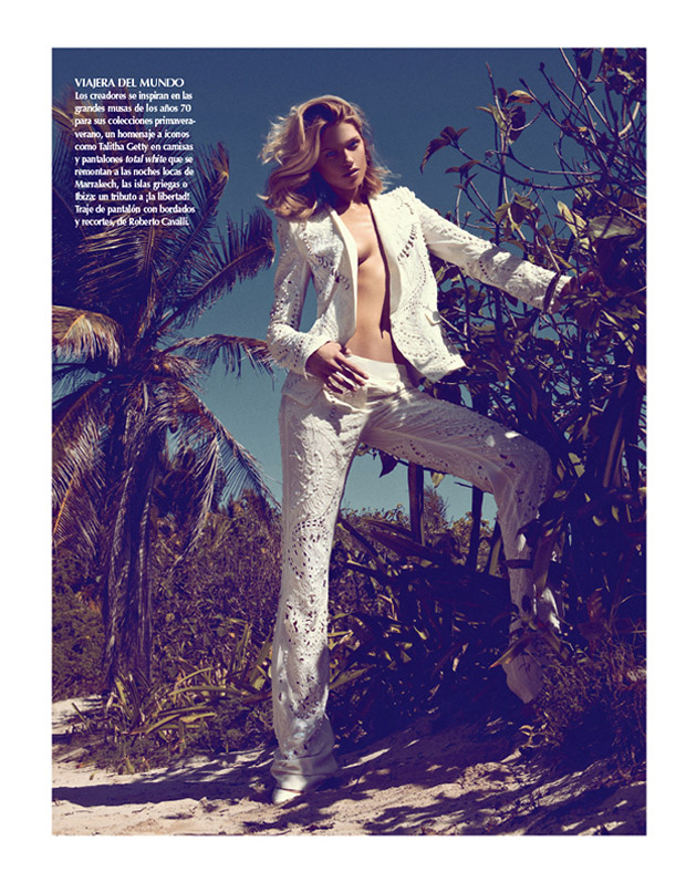 SarahGoreReevesVogueMexico3 Hana Jirickova Gets Tropical for Vogue Latin Americas 2013 April Cover Shoot