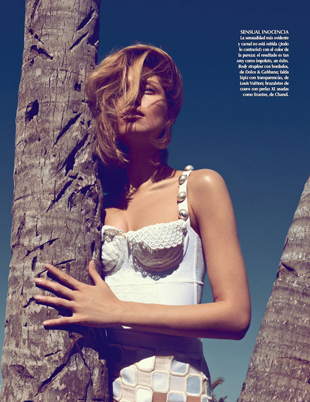 SarahGoreReevesVogueMexico5 Hana Jirickova Gets Tropical for Vogue Latin Americas 2013 April Cover Shoot
