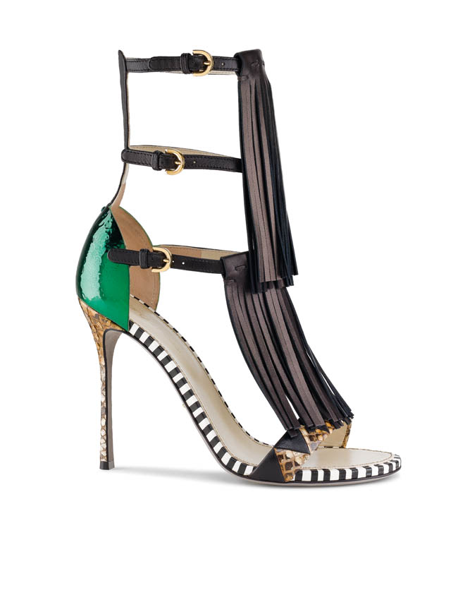 Sergio Rossi SS13 Tawaraya copia Sergio Rossi Murmansk Sandal for Spring/Summer 2013