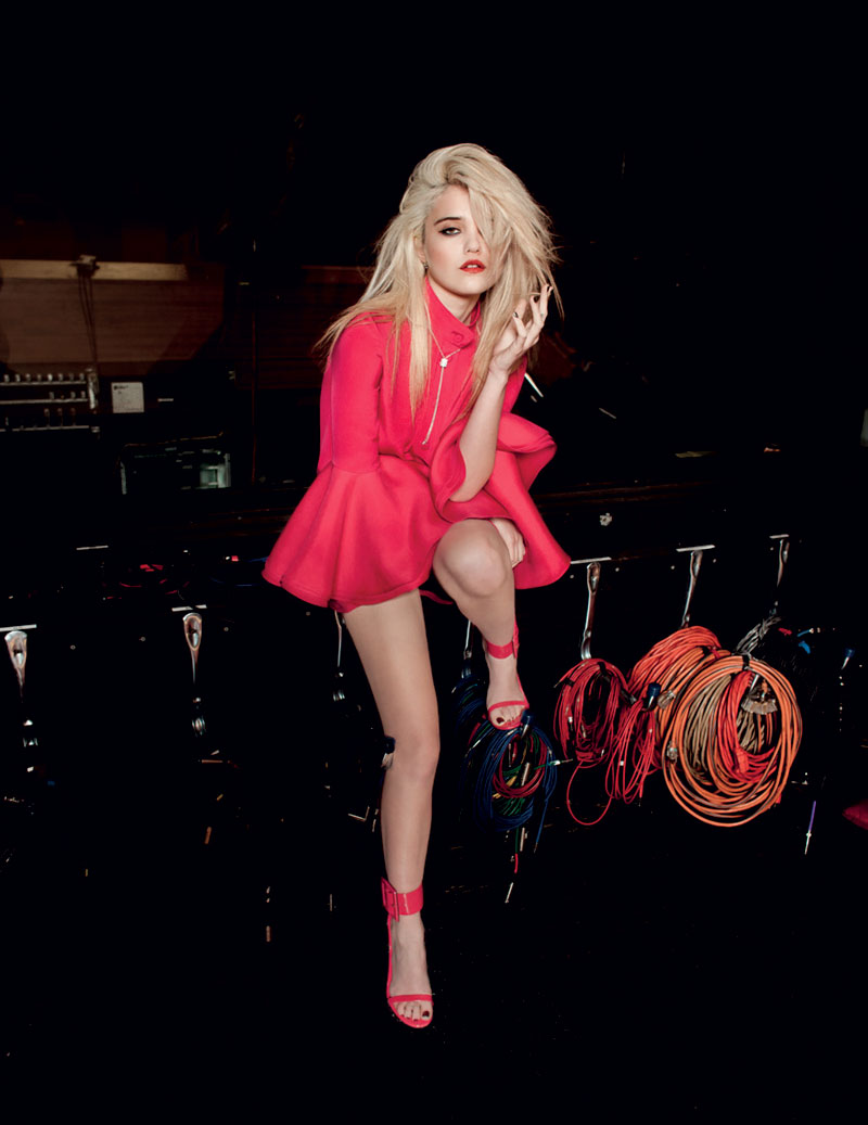 SkyFerreiraLofficielNetherlands7 Sky Ferreira Stars in LOfficiel Netherlands March 2013 Cover Shoot