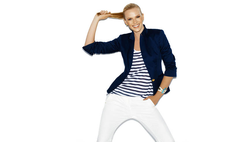 Suiteblanco ss13 march color 01 Anne Vyalitsyna Poses in New SuiteBlanco Spring Bloom 2013 Campaign