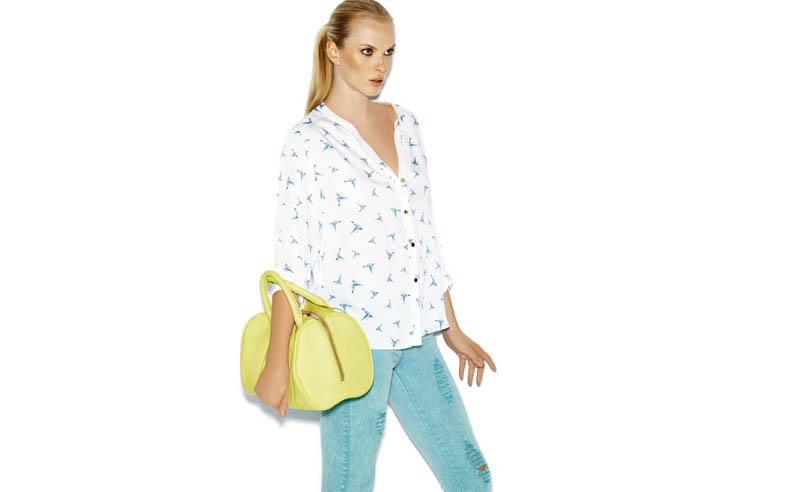 Suiteblanco ss13 march color 03 Anne Vyalitsyna Poses in New SuiteBlanco Spring Bloom 2013 Campaign