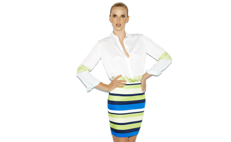 Suiteblanco ss13 march color 04 Anne Vyalitsyna Poses in New SuiteBlanco Spring Bloom 2013 Campaign