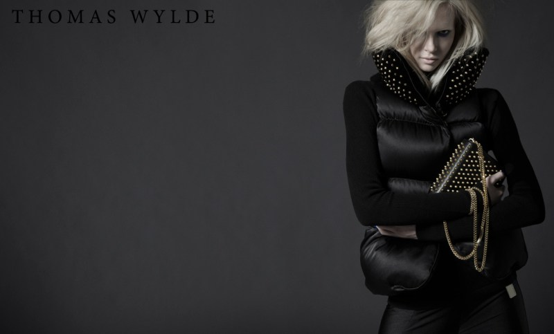 ThomasWyldeFall10 Thomas Wylde Gets Rock Glam for Fall 2013 Campaign