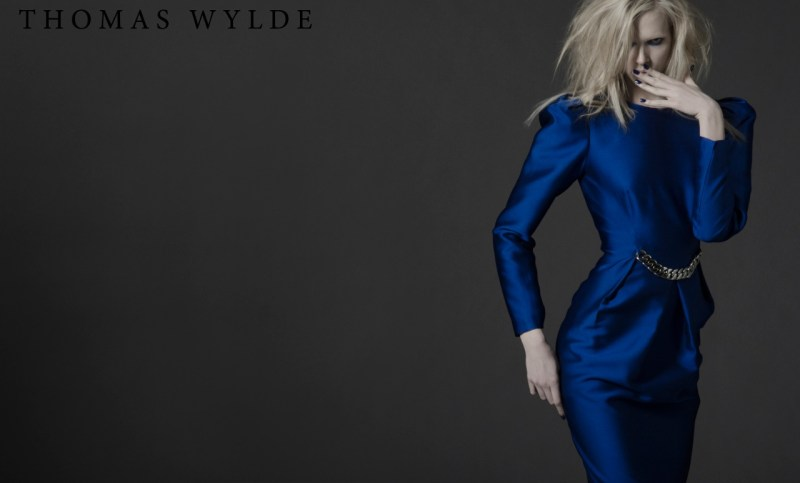 ThomasWyldeFall12 Thomas Wylde Gets Rock Glam for Fall 2013 Campaign