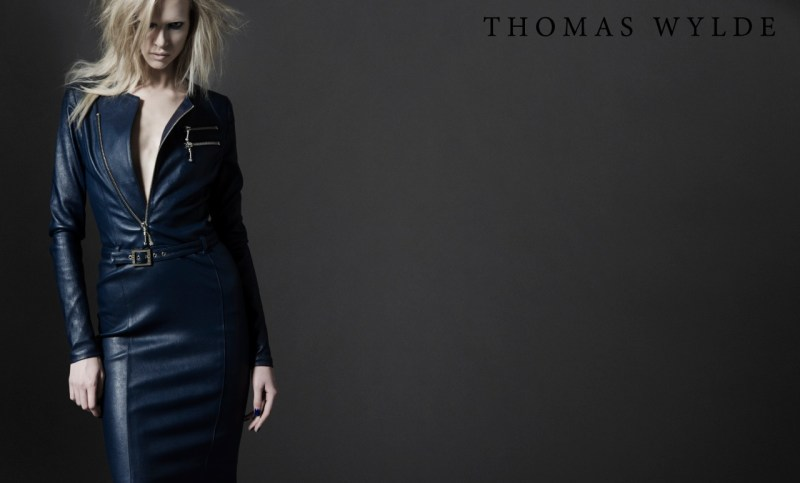 ThomasWyldeFall13 Thomas Wylde Gets Rock Glam for Fall 2013 Campaign