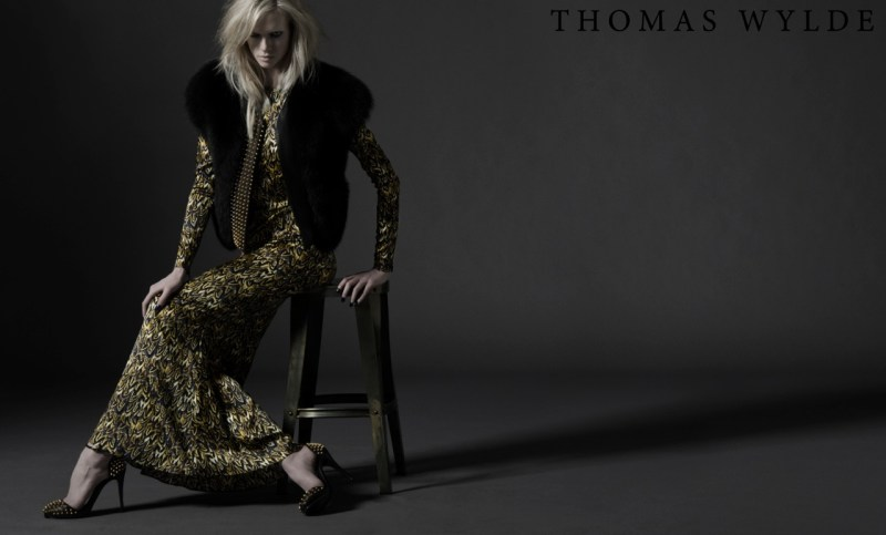 ThomasWyldeFall14 Thomas Wylde Gets Rock Glam for Fall 2013 Campaign