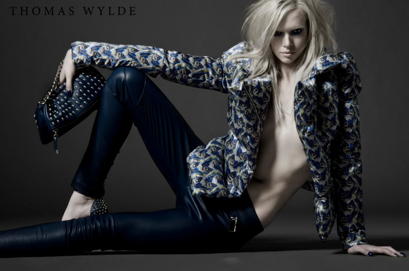 ThomasWyldeFall16 Thomas Wylde Gets Rock Glam for Fall 2013 Campaign