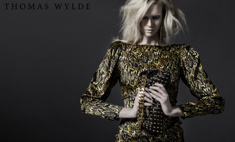 ThomasWyldeFall3 Thomas Wylde Gets Rock Glam for Fall 2013 Campaign