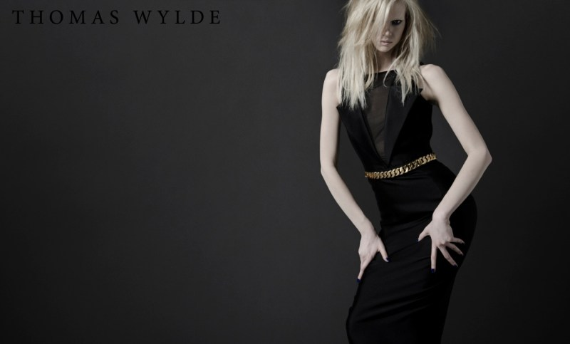 ThomasWyldeFall4 Thomas Wylde Gets Rock Glam for Fall 2013 Campaign