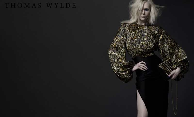 ThomasWyldeFall5 Thomas Wylde Gets Rock Glam for Fall 2013 Campaign