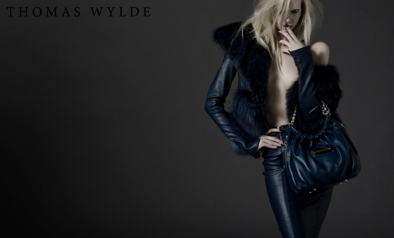 ThomasWyldeFall6 Thomas Wylde Gets Rock Glam for Fall 2013 Campaign