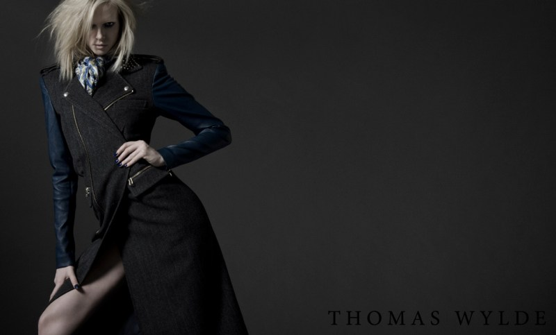 ThomasWyldeFall7 Thomas Wylde Gets Rock Glam for Fall 2013 Campaign