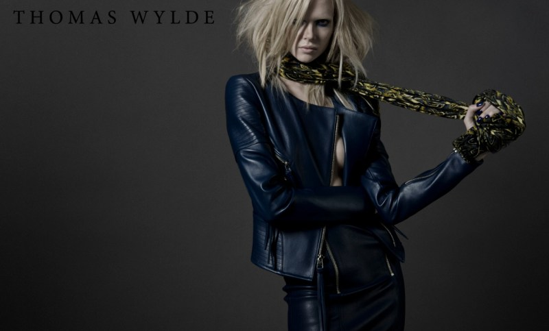 ThomasWyldeFall8 Thomas Wylde Gets Rock Glam for Fall 2013 Campaign