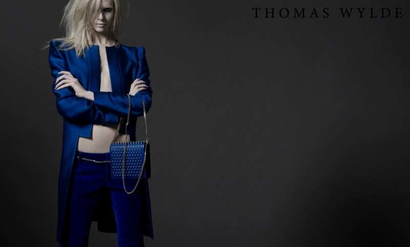 ThomasWyldeFall9 Thomas Wylde Gets Rock Glam for Fall 2013 Campaign